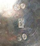 Adey Bellamy, Joseph & Albert Savory silver makers mark
