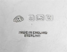 Adie Brothers Ltd Silver Makers Mark
