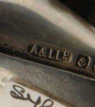 Adie & Lovekin Ltd Silver Makers Mark