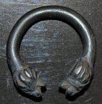 Roman silver penannular ring buckle