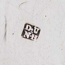 Duncan Urquhart & Naphtali Hart silver makers mark