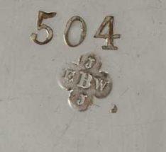 Barnard & Sons silver makers mark