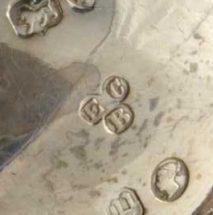 Edward Charles Brown Silver Makers Mark