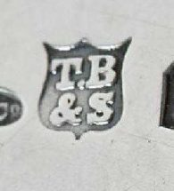 Thomas Bradbury & Sons Ltd silver makers mark