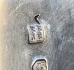 Elizabeth and John Eaton silver makers mark