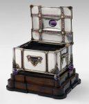 Jeweled casket 1929 Edward Everett Oakes (American, 1891–1960)