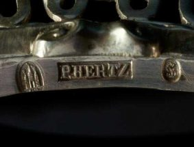 Peter Hertz Danish Silver Makers Mark