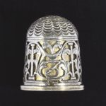 A German silver and silver-gilt thimble