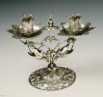 A candlestick dating from the first half of the 17th century