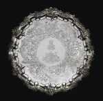 Royal. A Victorian silver presentation salver, Paul Storr for Storr & Mortimer, London, 1838