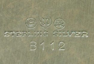 Watson Company Silver Makers Mark