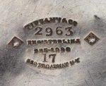Tiffany and Co silver makers mark circa 1860
